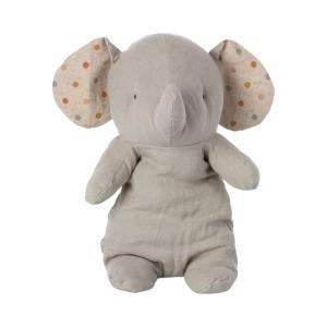 Maileg - 16-1926-00 - Amis de safari, Éléphant moyen -, taille : H : 34 cm  (472198)
