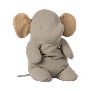 Maileg - 16-1927-00 - Amis de safari, Big Elephant, taille : H : 50 cm  (472202)