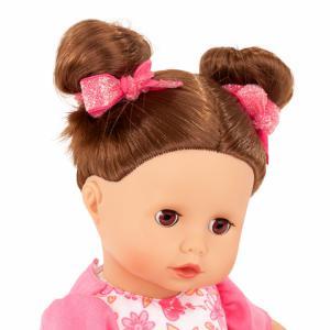 Gotz - 2120945 - Poupée 33 cm Muffin, Stripe Vipes, cheveux châtains (78464)